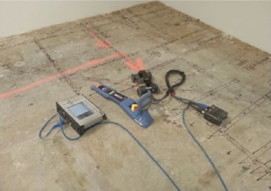 Concrete ground-penetrating radar